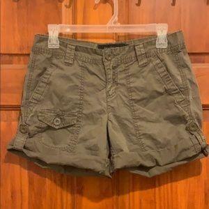 Calvin Klein Cargo Shorts Army Green Size 4